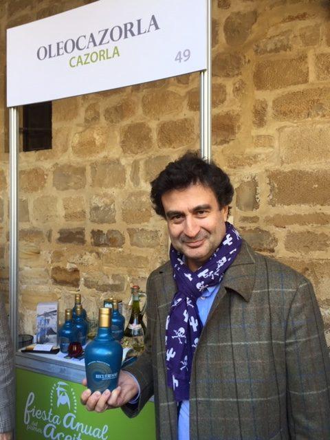"""Aceitex presenta su nueva marca """"RECUÉRDAME"""", en la V fiesta anual del primer aceite de Jaén."""