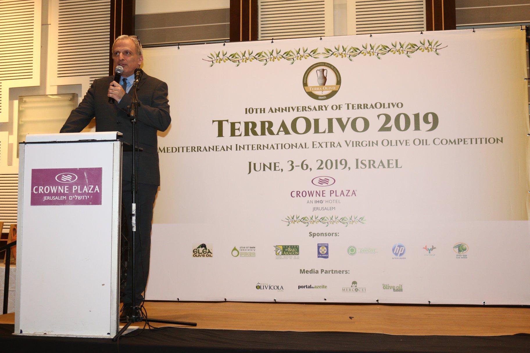 Aceitex es premiada en la Competición Internacional de Aceite de Oliva del Mediterráneo TerraOlivo 2019 – Israel