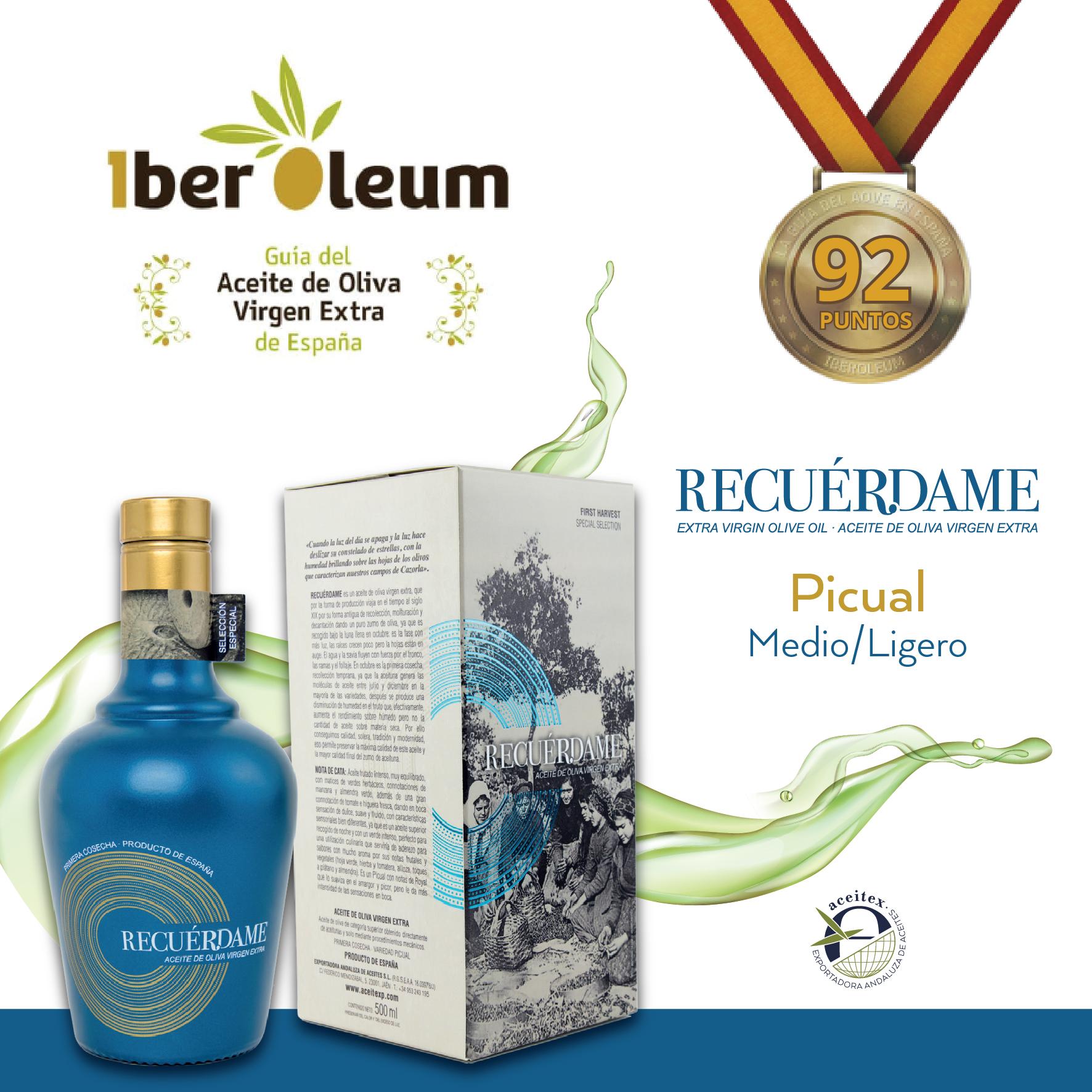 «Recuérdame» en el concurso IberOleum 2020
